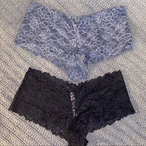 "NWT VS ""The Lace Sexy Shortie"" Set of 4"